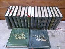 Lote de libros sur la 2éme guerra mundial,18 volúmenes aproximadamente 240