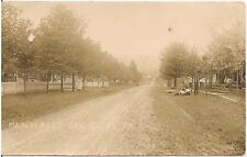 View on Main Street in Oak Ridge PA RP Postcard Armstrong County
