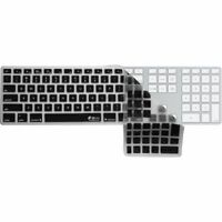 Checkerboard (Clear w/ Black Buttons) Kybd Cover Apple Ultra-Thin Kybd Num Pad