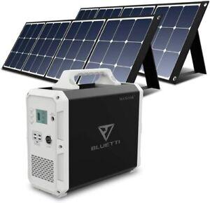 ⚡ MAXOAK Lithium Portable Puissance Station Bluetti 1500Wh 1000W 110V Solar Lot