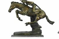 "CHEYENNE Bronze Sculpture by Frederic Remington 23"" x 28"""