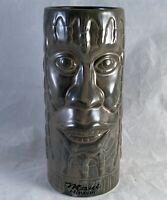 Chiki Tiki Maui Hawaii Tiki Barware Tumbler Tiki Cup Mug Retro Vintage Barware