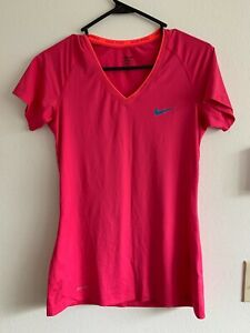 Nike Pro M Women's Shirt Fitted Short Sleeve Athletic Fit Running Top