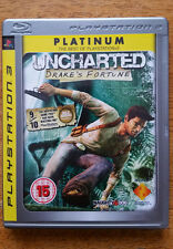 Uncharted - Drakes Fortune - Sony Playstation 3 -PS3 - Game - Free UK P&P