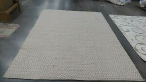 IVORY / BEIGE 8' X 10' Back Stain Rug, Reduced Price 1172612717 MTK716G-8