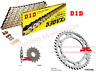 Honda CBR1000RR 2008 to 2015 DID Gold X-Ring Chain and JT Sprockets Kit Set