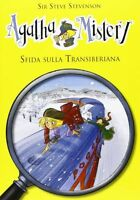 Sfida sulla transiberiana Agatha Mistery Vol. 13 DeA LIBRO Nuovo Stevenson N