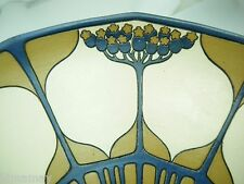 SIGNED METTLACH JUGENDSTIL TREES PLATE CHARGER EXCELLENT CONDITION ELDER BLOSSOM