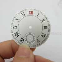 Parnis 38.87mm Watch Dial Plate Small Second at 6 for 3620 6498 movement