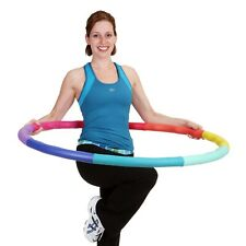 Weighted Sports Hula Hoop For Weight Loss - Acu Hoop 5L 5lbs large Workout
