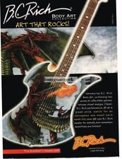 Bc rich body in collectables ebay 2003 bc rich mockingbird fire breather electric guitar body art collection ad sciox Gallery