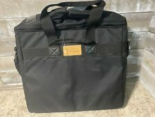 """iMAC iLugger 20"""" Padded Laptop Carrying Case with Strap, Backpack Black"""
