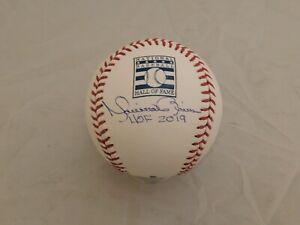 MARIANO RIVERA Signed / Autographed HOF Logo Baseball HOF 2019 Inscribed Steiner