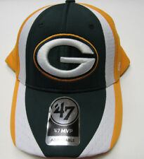 online store 31f42 e5067 Green Bay Packers Logo Adjustable Adult Size Hat 47 MVP Touchback NFL Cap