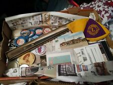 New listing Treasure Chest Box Lot of Vintage Junk Drawer Items