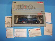 Marklin Märklin Digital HO 3798 Blue Gt2 4/4 Steam Locomotive Mallet  MIB
