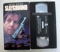 VHS: Slayground: horror rare slip version Peter Coyote 1983