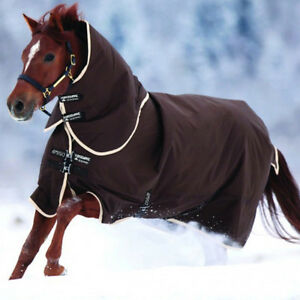 Horseware Amigo Turnout Bravo 12 1200 D medium Weidedecke chocolate - jede Größe