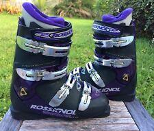 Rossignol  Energy STX Downhill Ski Boots Men's Size 26.5 Black&Purple Italy