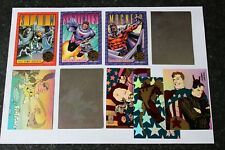 8 Trading Chase Card Set = 2 Hologram, 3 X-Men Series 2, 3 Creators Universe Hot