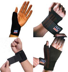 Carpal Tunnel Thumb Hand Glove Wrist Brace Wrap Support Arthritis Neoprene