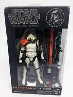 Star Wars Black Series Sand Trooper 6 Inch #03 Orange Wave Original Hasbro NEW