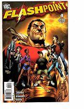 Flashpoint # 4 NM 1st Print Variant Cover DC Comic Book Batman Superman LH3