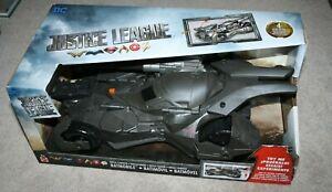 DC Justice League Movie - Batmobile Vehicle - New - Mattel
