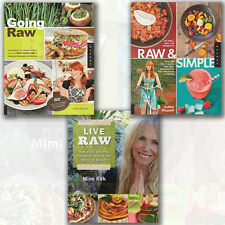 Mimi Kirk & Judita Wignall Raw Food Recipes & Dieting Collection 3 Books Set