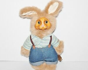 ROBERT RAIKES ORIGINAL APPLAUSE RABBIT DYLAN #53417 SIGNED 14 IN TALL WITH TAGS