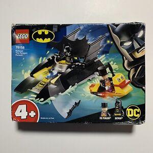 Lego DC Superheroes Batman 76158 Batboat Penguin Pursuit 54 Pcs Set