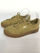 Puma Tan SUEDE Trainers Pumps Uk Size 6 Woman's/girls On Trend Kylie Jenner