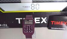 Ancienne Montre Collector  Homme Vintage TIMEX 80 Calculatrice NEUVE NOS 1980