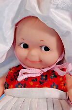"""8"""" CAMEO KEWPIE DOLL in Original Outfit Vinyl Squeaky CUTE! FREE SHIPPING"""