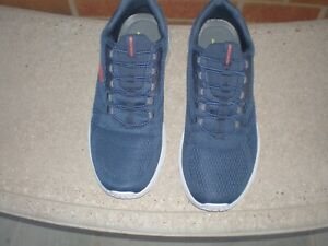 skechers mens uk size 12 relaxed fit slip on trainers