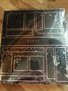 Lipsy London, 12 Days of Beautiful Advent Calendar.  Brand New!