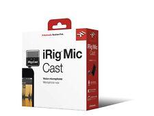 IK Multimedia iRig Mic Cast Aufnahmemikrofon für iOs und Android - neu