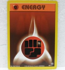 POKEMON NEO GENESIS - FIGHTING ENERGY x2 - 106/111 inglese-MINT/NEAR MINT