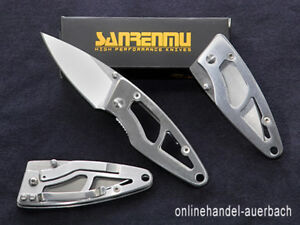 SANRENMU 614 Taschenmesser Klappmesser Messer