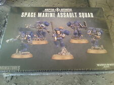WARHAMMER 40K SPACE MARINE ASSAULT SQUAD - NEW & SEALED