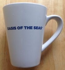 ROYAL CARIBBEAN OASIS OF THE SEAS CRUISE SHIP COFFEE MUG, USED