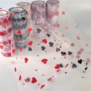 Tulle 9.2m/Roll Spool Tutu Sequin Glitter Wedding Valentine Day Yard Accessories