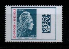 Marianne de l'engagée Europe surchargée timbre neuf + Oblitéré (sur l'enveloppe)