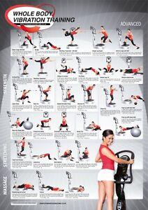 Whole Body Vibration Training Programme, Level 2, Advanced Training Chart