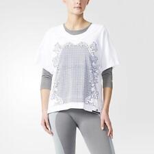 Adidas by Jeremy Scott Jagged Leopard señora Mesh t-shirt Jersey Women camiseta top