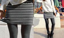 2 IN 1 SKIRT LEGGINGS. Winter cosy.Style of a skirt w/leggings. GREY STRIPE