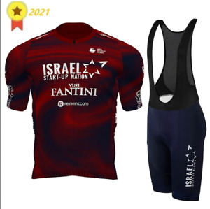 ISRAEL START-UP NATION TEAM 2021 Giro Cycling Set Suit BIB & Jersey L