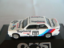 Herpa BMW m3 DTM 1990 #11 altfried Heger Linder uccelli Sang protezione cavi, NUOVO + OVP