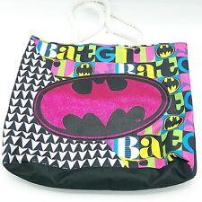 Batgirl Sparkly Pink Tote Bag