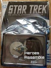 STAR TREK STARSHIPS COLLECTION #52 USS CENTAUR EAGLEMOSS NEW (50 51 )